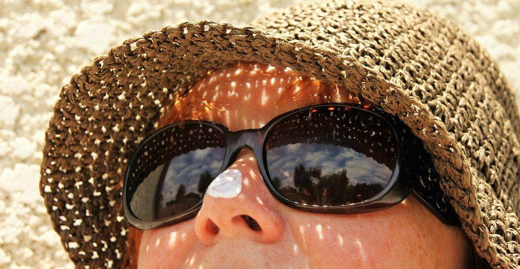 サングラス 日焼け止め ダイビング女子
