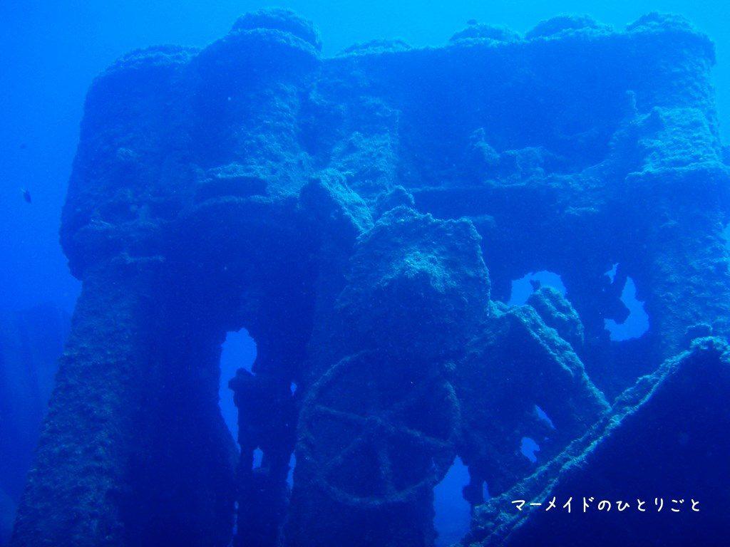 ダイビング スキルアップ 沈船 アドバンス