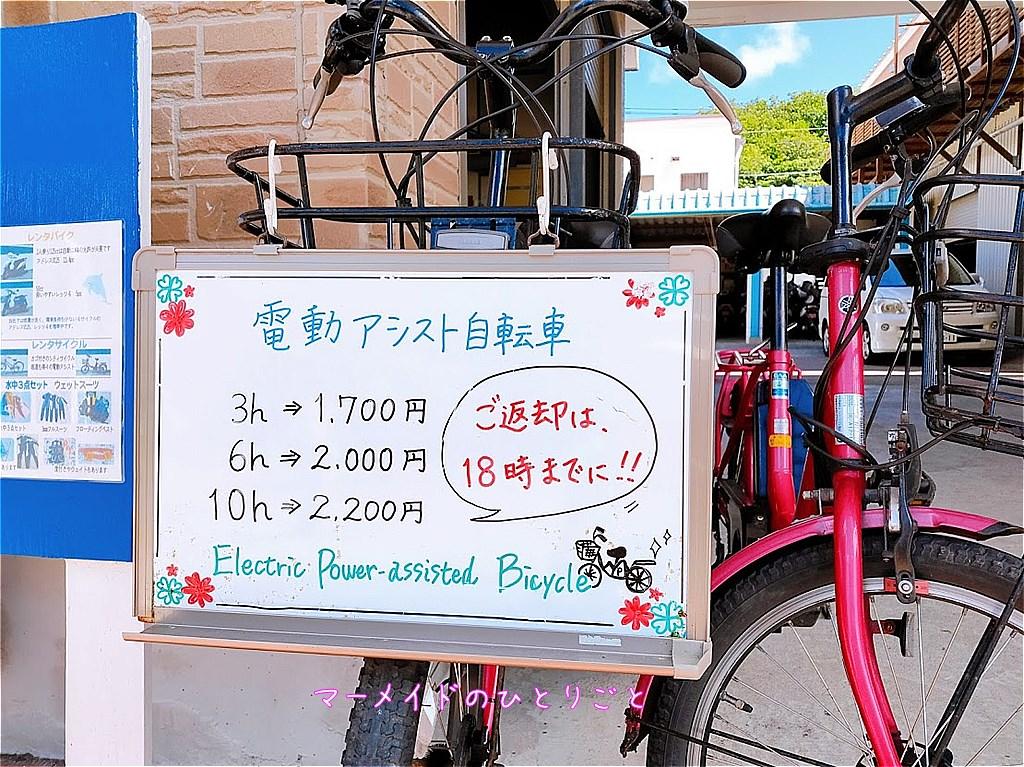 電動アシスト付自転車 料金